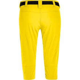 Maier Sports Inara Slim 3/4 Pants Women, lemon